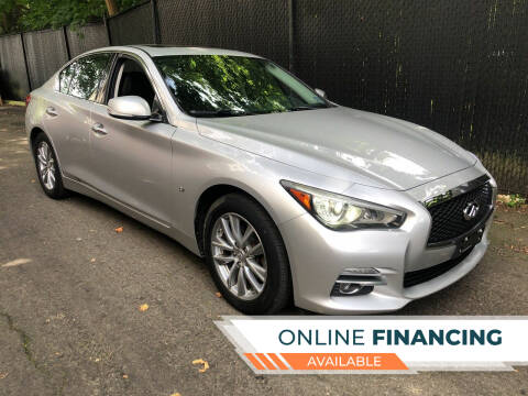 2014 Infiniti Q50 for sale at Lenders Auto Group in Hillside NJ