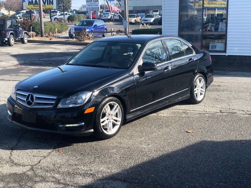 2013 Mercedes-Benz C-Class for sale at HYANNIS FOREIGN AUTO SALES in Hyannis MA