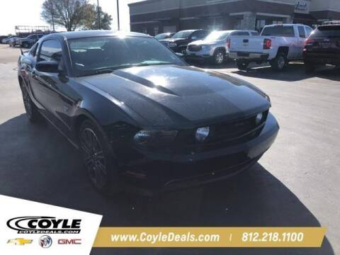 2010 Ford Mustang for sale at COYLE GM - COYLE NISSAN - New Inventory in Clarksville IN
