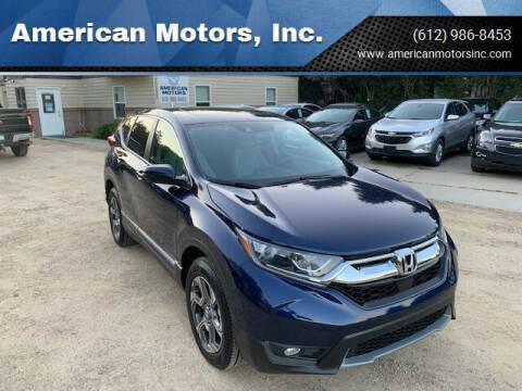 2017 Honda CR-V for sale at American Motors, Inc. in Farmington MN