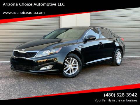 2013 Kia Optima for sale at Arizona Choice Automotive LLC in Mesa AZ