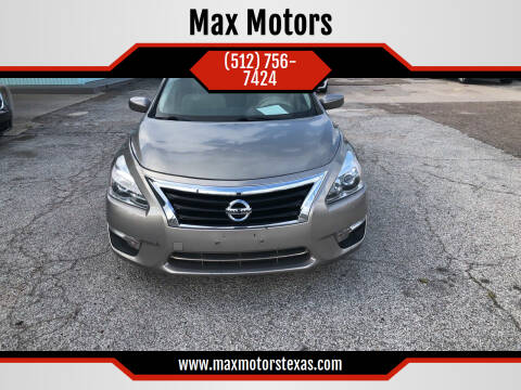 2013 Nissan Altima for sale at Max Motors in Corpus Christi TX