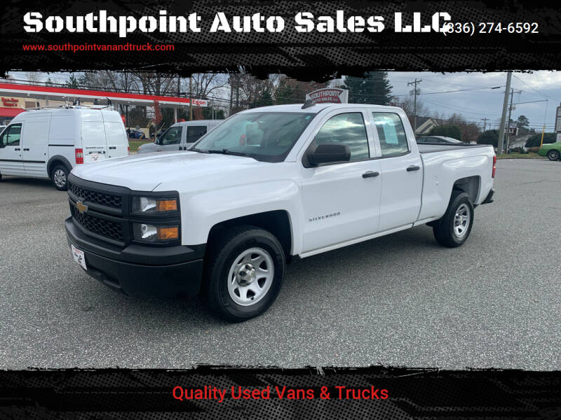 2015 Chevrolet Silverado 1500 for sale at Southpoint Auto Sales LLC in Greensboro NC
