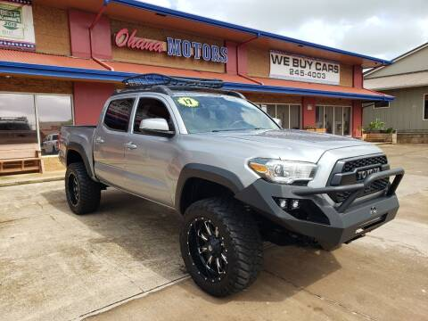 2017 Toyota Tacoma for sale at Ohana Motors - Lifted Vehicles in Lihue HI