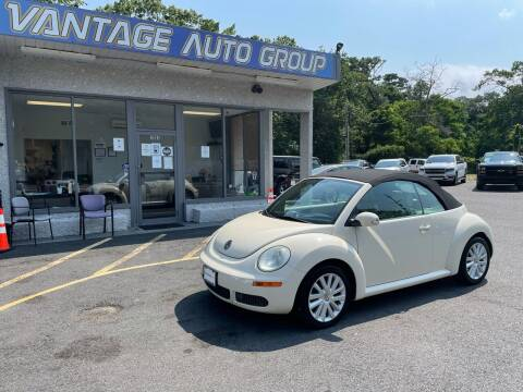 2009 Volkswagen New Beetle Convertible for sale at Vantage Auto Group in Brick NJ