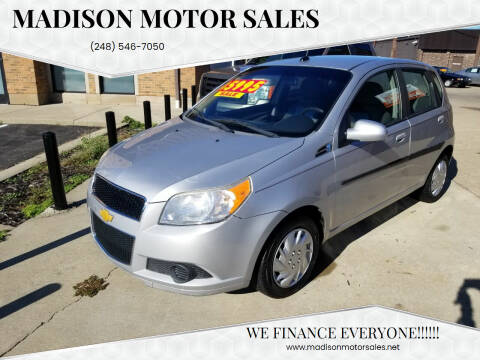 2010 Chevrolet Aveo for sale at Madison Motor Sales in Madison Heights MI