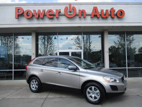 2011 Volvo XC60 for sale at Power On Auto LLC in Monroe NC