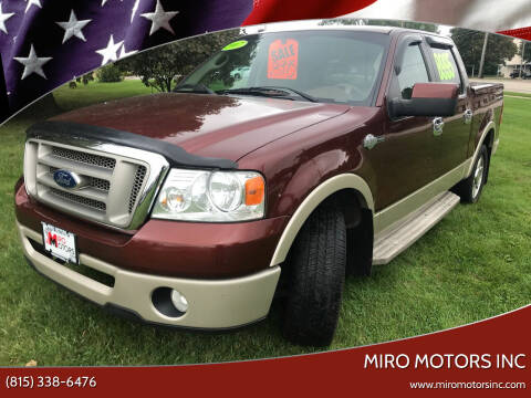 2007 Ford F-150 for sale at Miro Motors INC in Woodstock IL