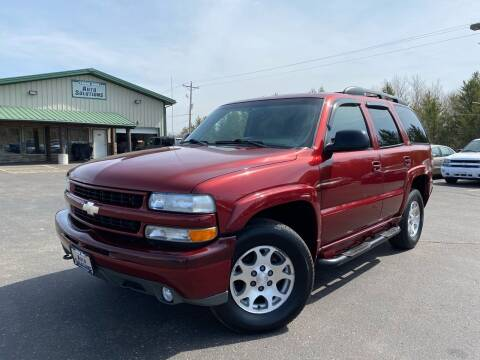 2003 Chevrolet Tahoe for sale at Lakes Area Auto Solutions in Baxter MN