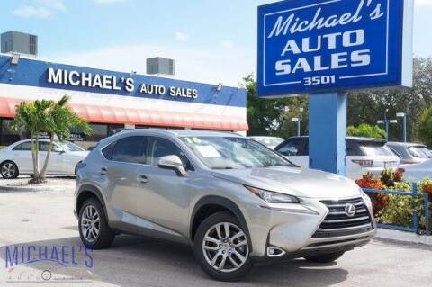 2016 Lexus NX 200t for sale at Michael's Auto Sales Corp in Hollywood FL