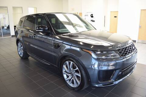 2019 Land Rover Range Rover Sport for sale at BMW OF NEWPORT in Middletown RI