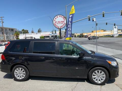 2012 Volkswagen Routan for sale at San Mateo Auto Sales in San Mateo CA