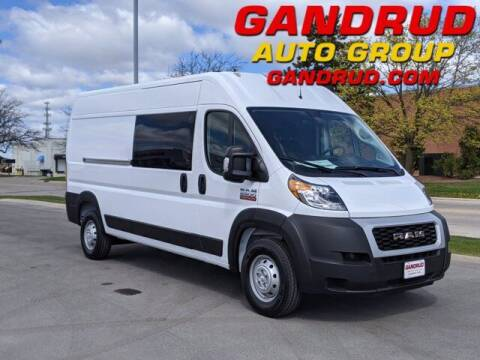 2021 RAM ProMaster Cargo for sale at Gandrud Dodge in Green Bay WI