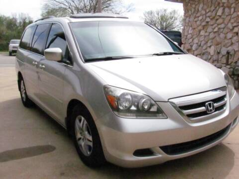 2006 Honda Odyssey for sale at CANTWEIGHT CLASSICS in Maysville OK