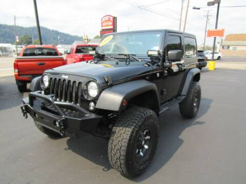 2015 Jeep Wrangler for sale at Joe's Preowned Autos 2 in Wellsburg WV