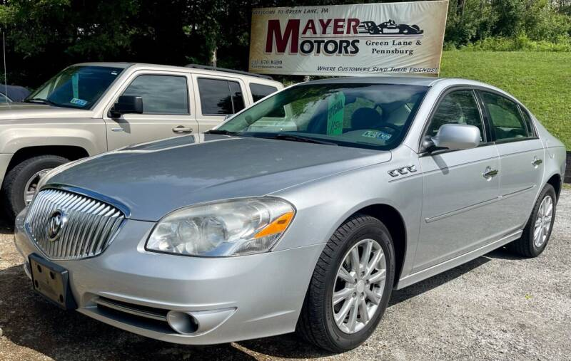 2010 Buick Lucerne for sale at Mayer Motors of Pennsburg - Green Lane in Green Lane PA