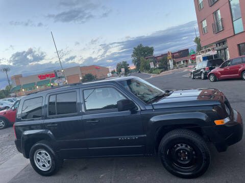 2016 Jeep Patriot for sale at Sanaa Auto Sales LLC in Denver CO