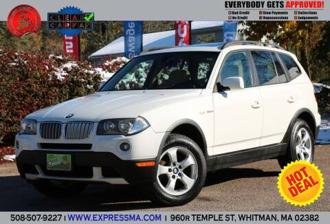 2008 BMW X3 for sale at Auto Sales Express in Whitman MA