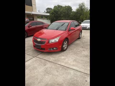 2012 Chevrolet Cruze for sale at FREDY USED CAR SALES in Houston TX