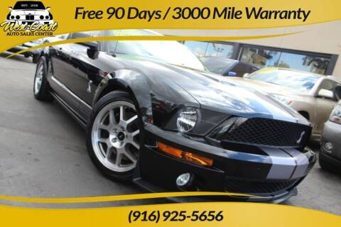 2007 Ford Shelby GT500 for sale at West Coast Auto Sales Center in Sacramento CA