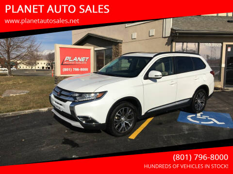 2016 Mitsubishi Outlander for sale at PLANET AUTO SALES in Lindon UT