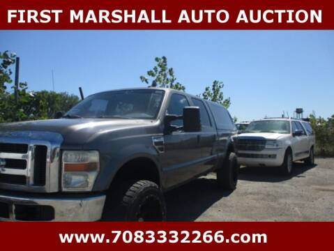 2010 Ford F-250 Super Duty for sale at First Marshall Auto Auction in Harvey IL