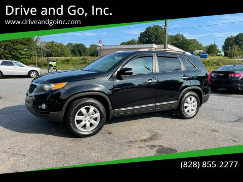 2012 Kia Sorento for sale at Drive and Go, Inc. in Hickory NC