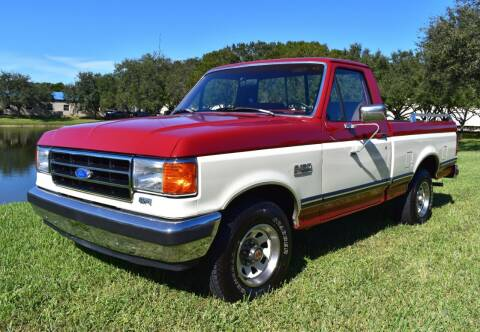 1990 Ford F-150 for sale at Thoroughbred Motors in Wellington FL