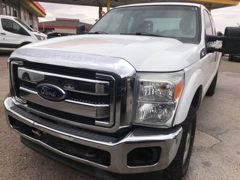 2015 Ford F-250 Super Duty for sale at Fiesta Motors Inc in Las Cruces NM