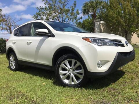 2013 Toyota RAV4 for sale at Kaler Auto Sales in Wilton Manors FL
