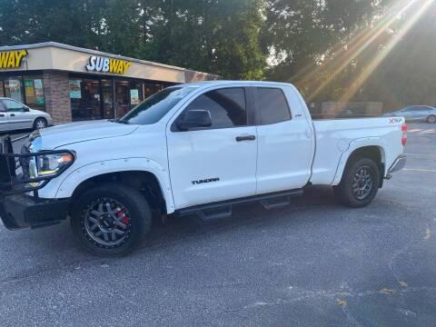 2018 Toyota Tundra for sale at BRAVA AUTO BROKERS LLC in Clarkston GA