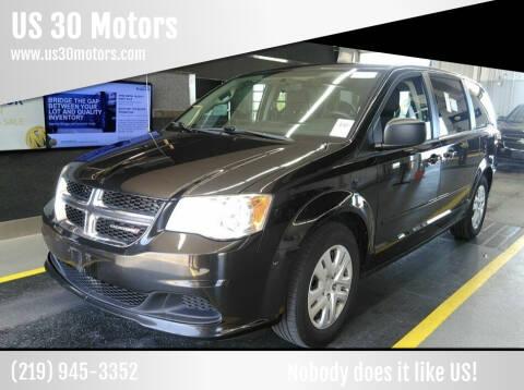2014 Dodge Grand Caravan for sale at US 30 Motors in Merrillville IN