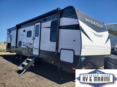 2021 KEYSTONE HIDEOUT 29BQWE for sale at SOUTHERN IDAHO RV AND MARINE in Jerome ID