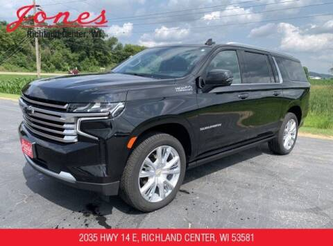 2021 Chevrolet Suburban for sale at Jones Chevrolet Buick Cadillac in Richland Center WI