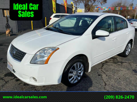 2008 Nissan Sentra for sale at Ideal Car Sales in Los Banos CA