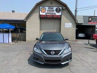 2016 Nissan Altima for sale at Utah Credit Approval Auto Sales in Murray UT