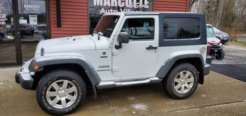 2011 Jeep Wrangler for sale at Marcotte & Sons Auto Village in North Ferrisburgh VT