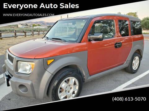 2005 Honda Element for sale at Everyone Auto Sales in Santa Clara CA
