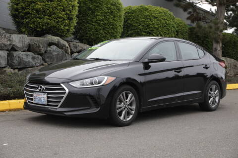 2017 Hyundai Elantra for sale at SS MOTORS LLC in Edmonds WA