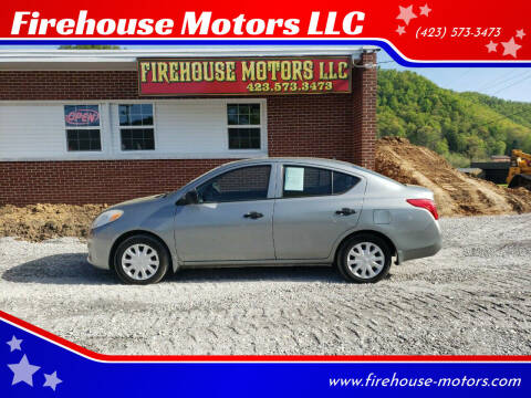 2012 Nissan Versa for sale at Firehouse Motors LLC in Bristol TN