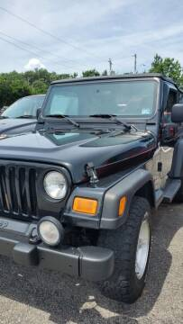 2004 Jeep Wrangler for sale at M B & D AUTO in Va Beach VA