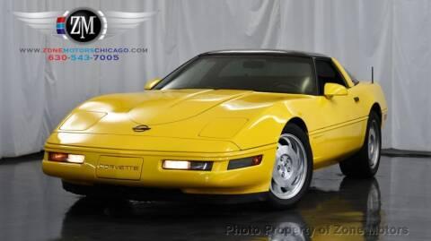 1996 Chevrolet Corvette for sale at ZONE MOTORS in Addison IL