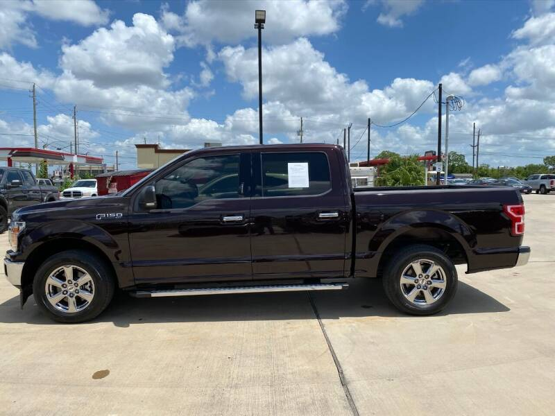 2018 Ford F-150 4x2 XLT 4dr SuperCrew 5.5 ft. SB - Houston TX