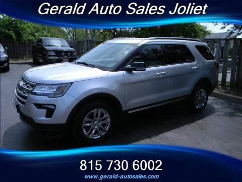 2018 Ford Explorer for sale at Gerald Auto Sales in Joliet IL