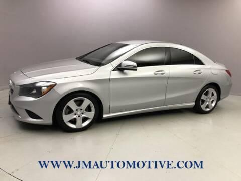 2016 Mercedes-Benz CLA for sale at J & M Automotive in Naugatuck CT