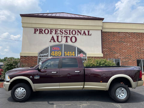 2012 RAM Ram Pickup 3500 for sale at Professional Auto Sales & Service in Fort Wayne IN