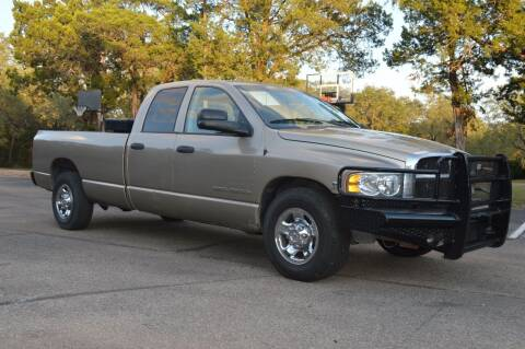 2003 Dodge Ram Pickup 2500 for sale at Coleman Auto Group in Austin TX