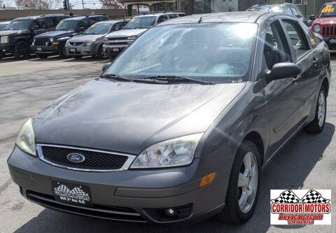 2007 Ford Focus for sale at Corridor Motors in Cedar Rapids IA
