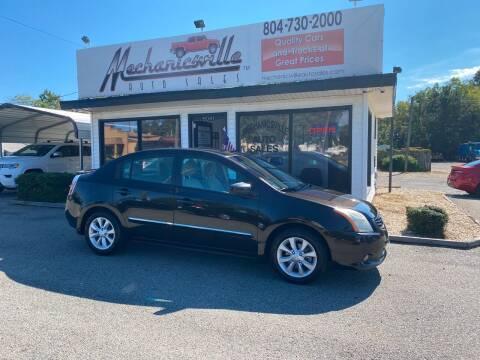 2011 Nissan Sentra for sale at Mechanicsville Auto Sales in Mechanicsville VA