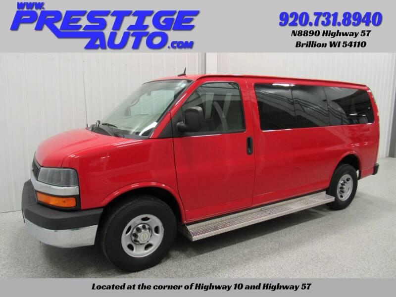 2014 Chevrolet Express Passenger for sale at Prestige Auto Sales in Brillion WI